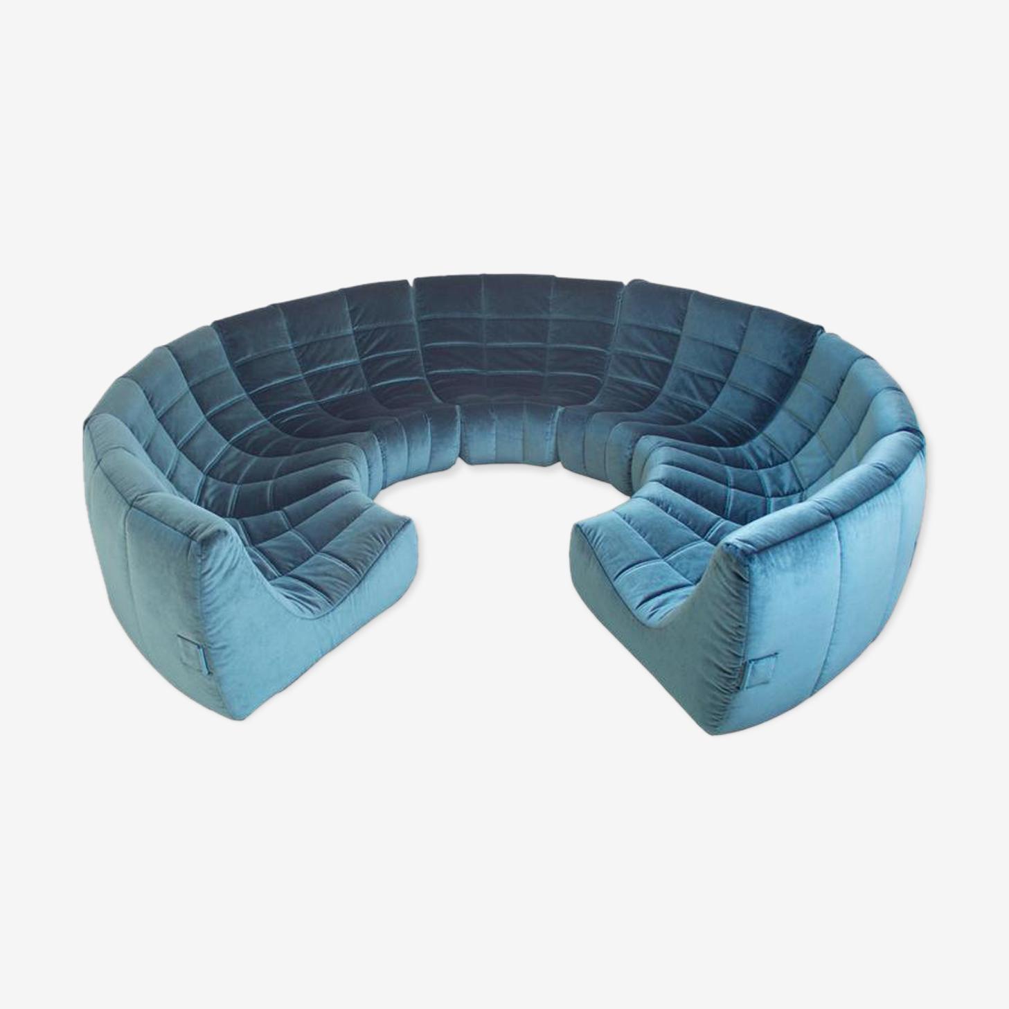 Canapé de cercle «Gilda» de Michel Ducaroy 1972