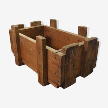 Caisse militaire en bois