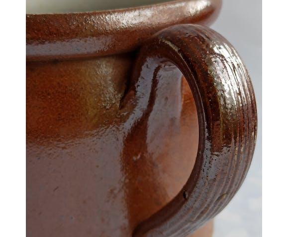 Pot ancien en grès
