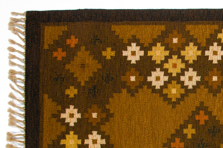 Scandinavian 20th century modern rug by Åsa Åkerblom. 230 x 170 cm (90.55 x 66.93 in)