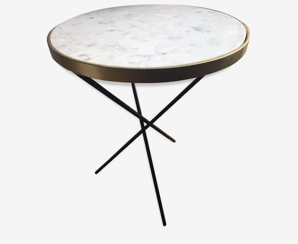Table Basse Ronde Marbre Selency