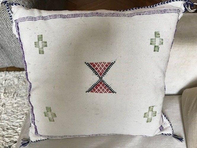 Coussin berbère en coton