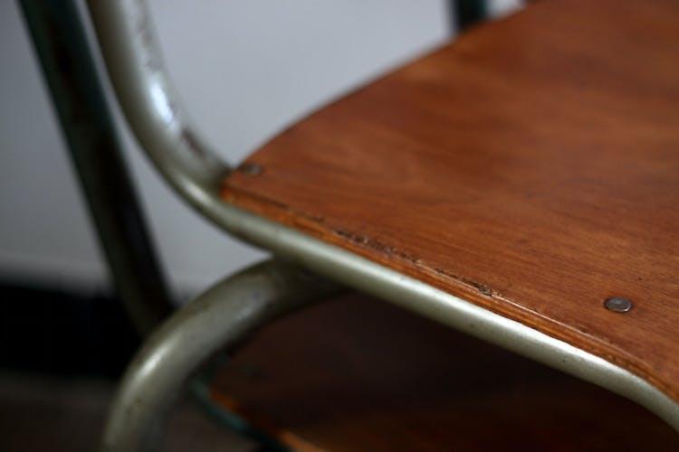 Paire de chaises d'écoliers Mullca enfants