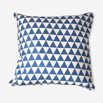 Coussin au motif géométrique 40x40 cm