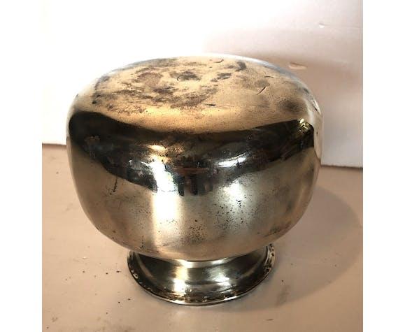 Vase ancien en laiton massif