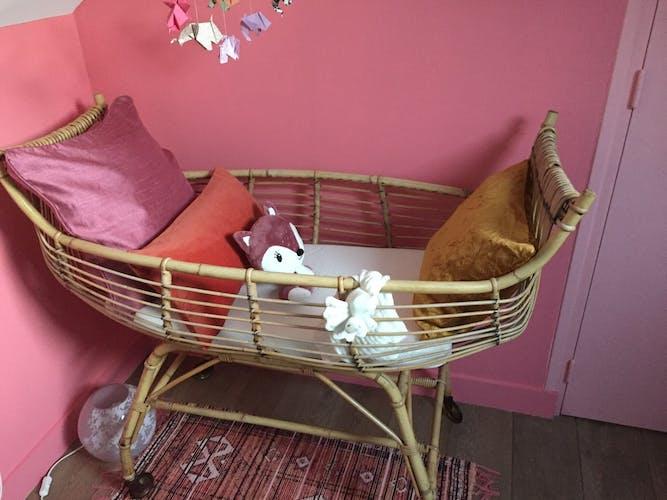 Bamboo cradle