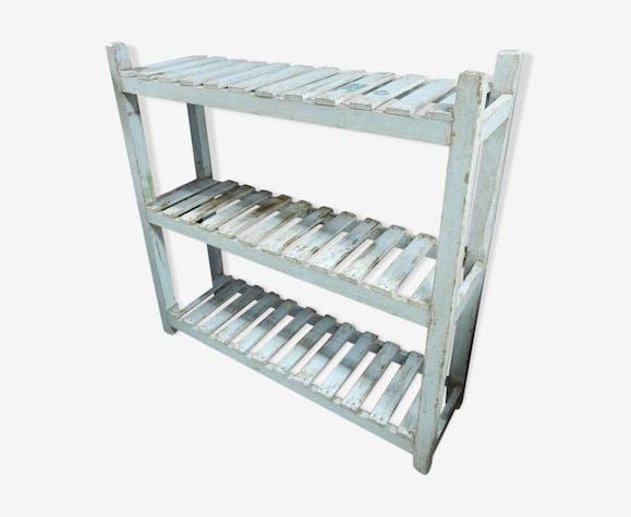 Shelving rack shelves biblio teak