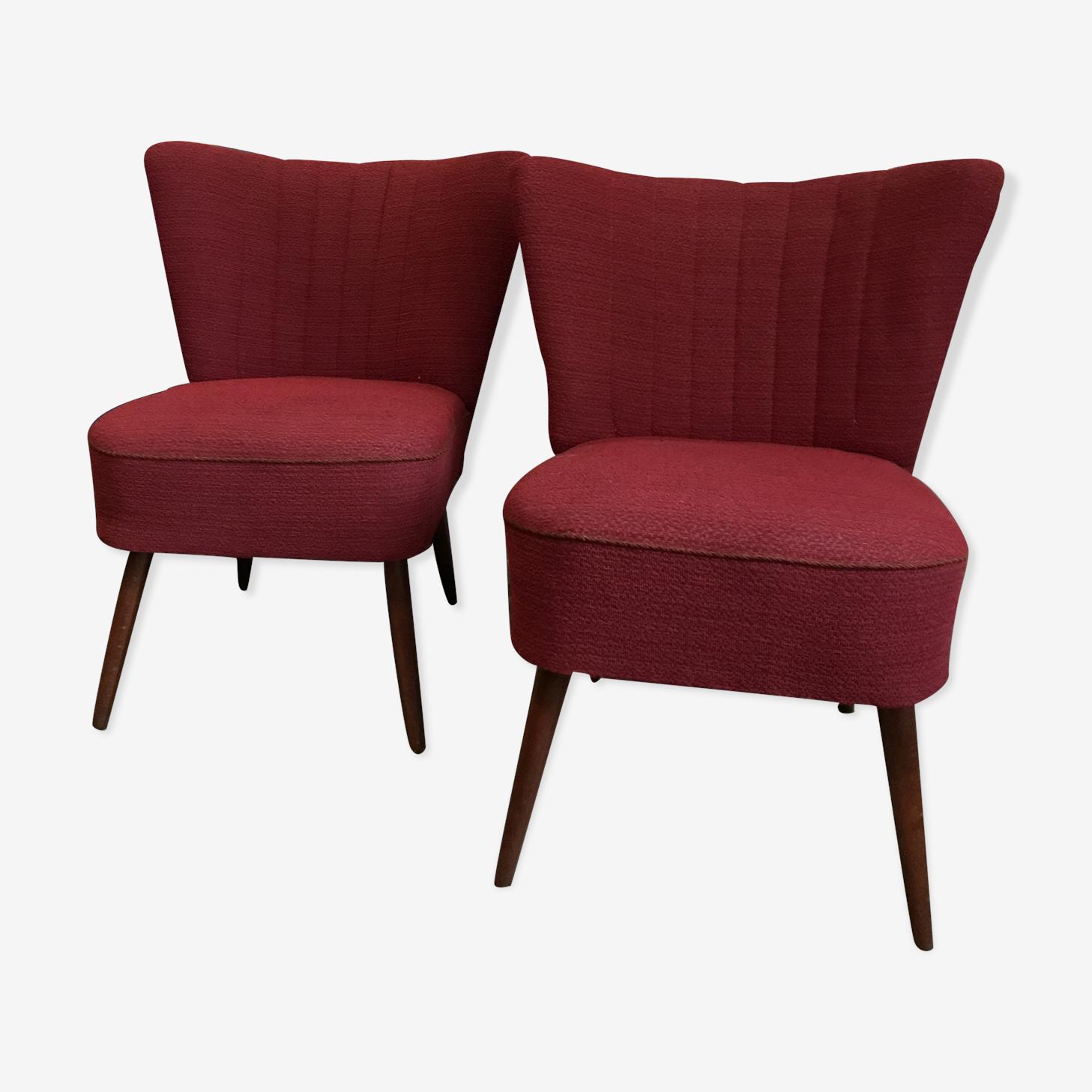Duo de fauteuils cocktail