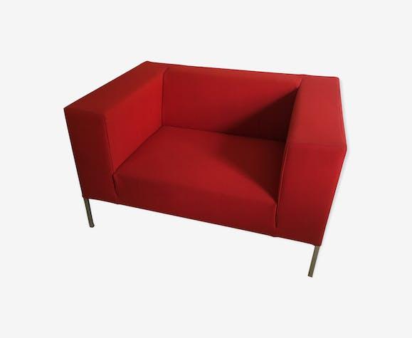 Canapé rouge Allen MDF Italia par Bruno Fattorini 1998
