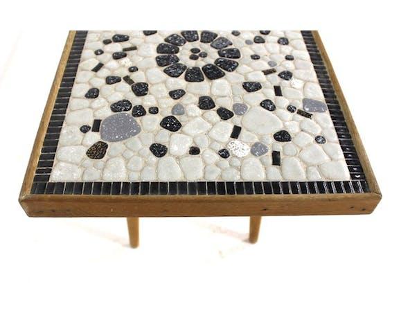 Table basse en mosaïque, Suède, 1960
