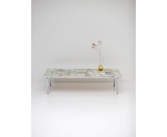 Table basse en céramique de Pia Manu
