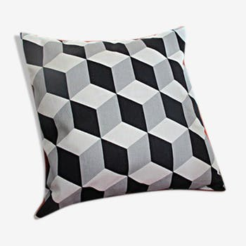 Cushion designs black and white 40x40cm