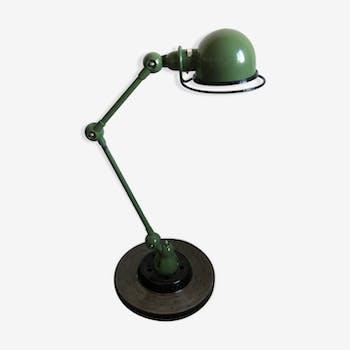 Lampe industrielle Jielde 2 bras vintage 1980