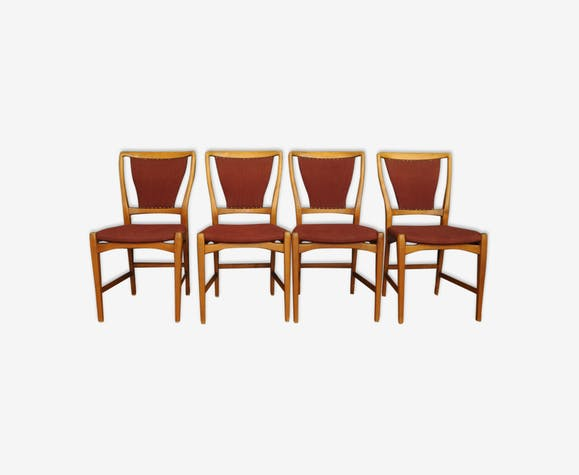 Danish Chairs, Set Of 4