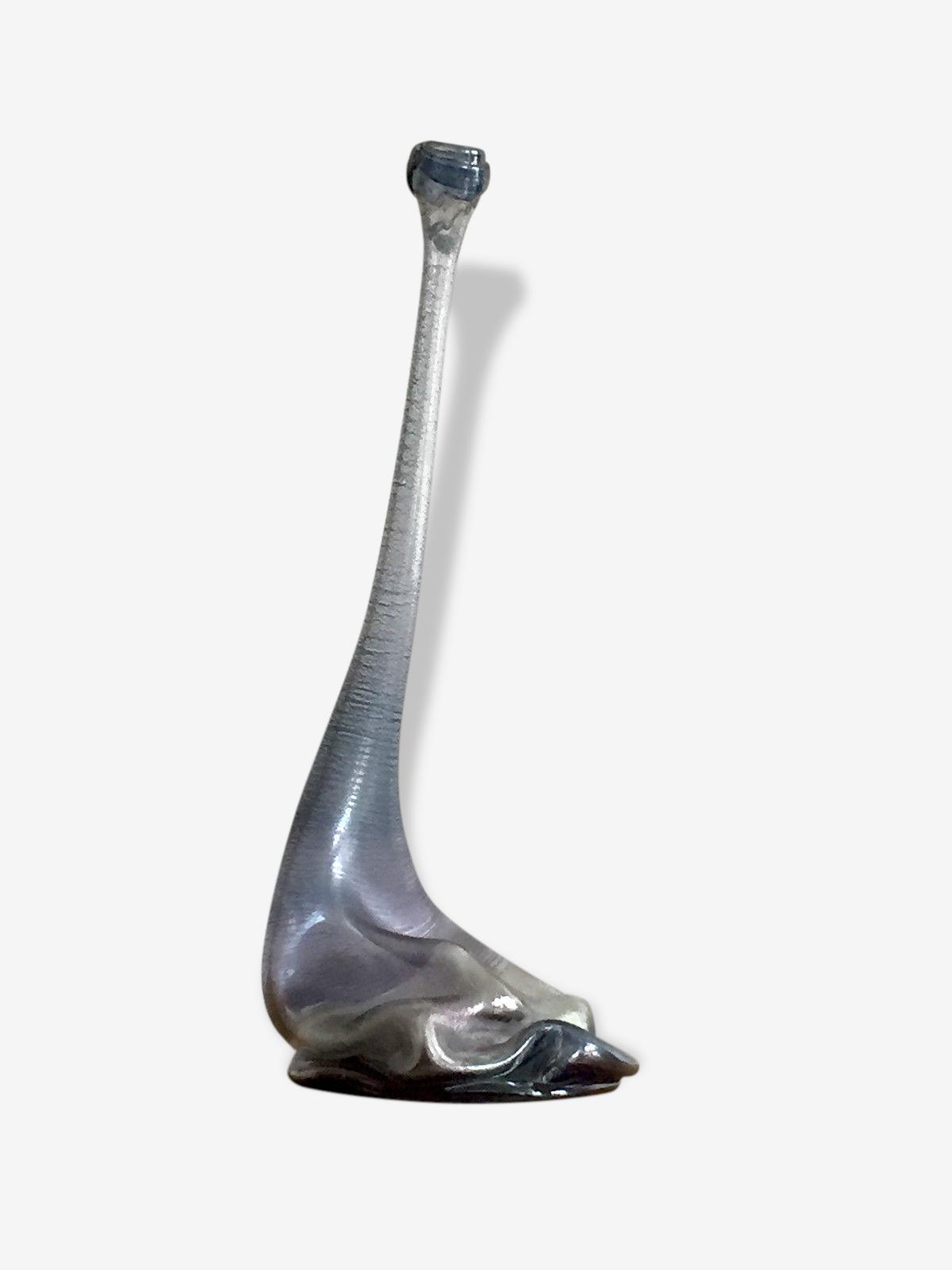Vase sculpture forme libre moderniste signé Dusterhaus