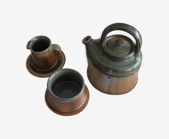 Set teapot sugar bowl milk pot