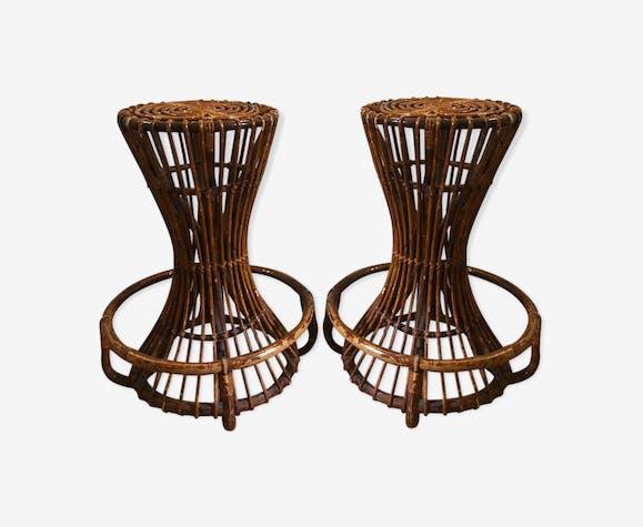 2 design stools of Tito Agnoli, 60s