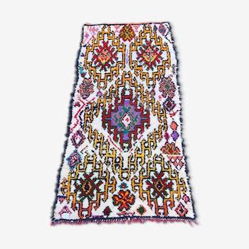 Carpet boucherouite 220 x 105 cm