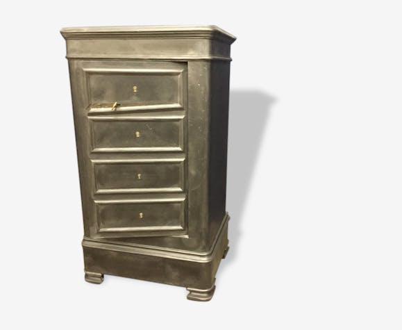 ancien coffre fort fichet faux tiroirs mobilier. Black Bedroom Furniture Sets. Home Design Ideas