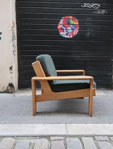 Fauteuil design Eesko Pajamies pour Asko modèle Bonanza années 70