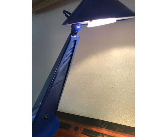 Lampe Toucan Genexco bleu années 80