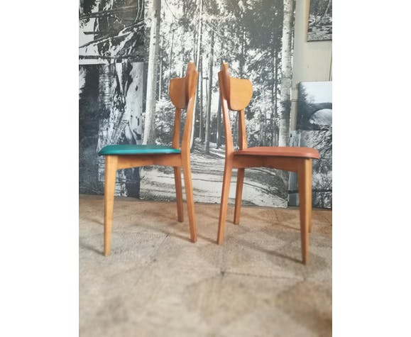 Pair of bistro chairs 1960