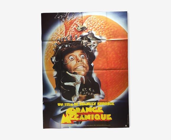 Mechanical Orange poster Stanley Kubrick 120x160cm