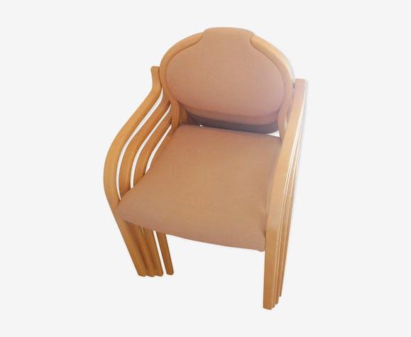 Lot de 4 chaises vintage scandinaves