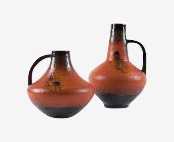 Paire de vases ateliers Carstens 60s