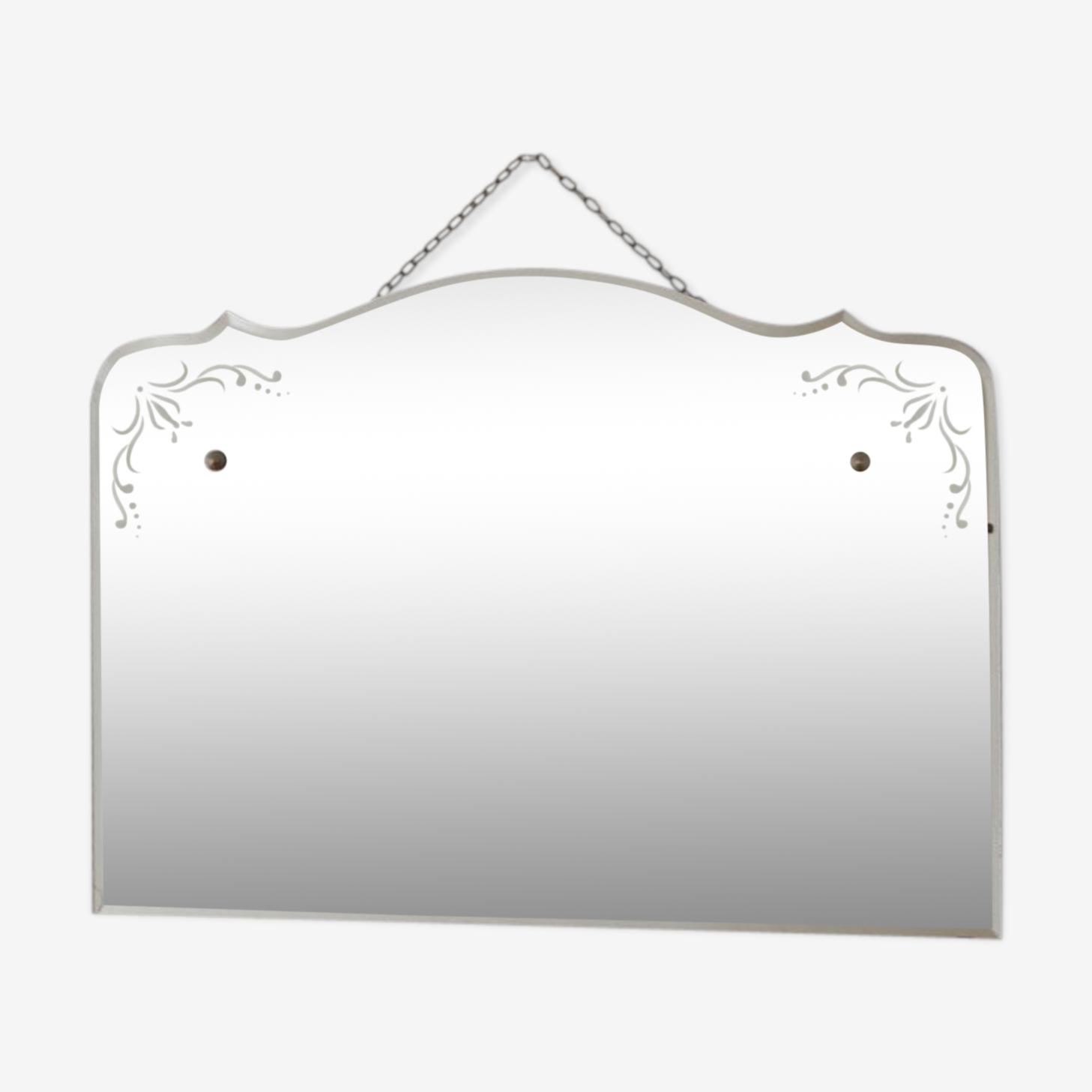 Bevelled mirror 60x84cm