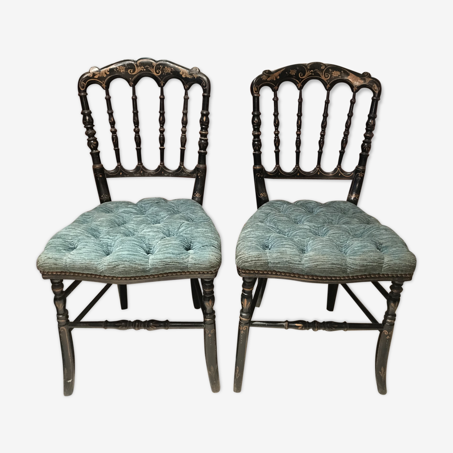 Pair of Napoleon III chairs