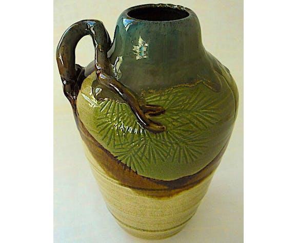 Vase en grès japonais