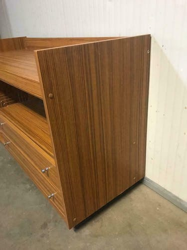 Meuble audio vintage meuble tv meuble bas