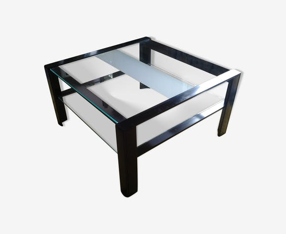 Artelano métal et verre et Table design en basse verre FJKTl1c