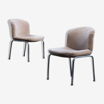 Pair of armcahir by Furniture International, 70