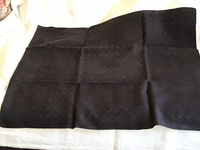 Set de 2 serviettes de table «CR»