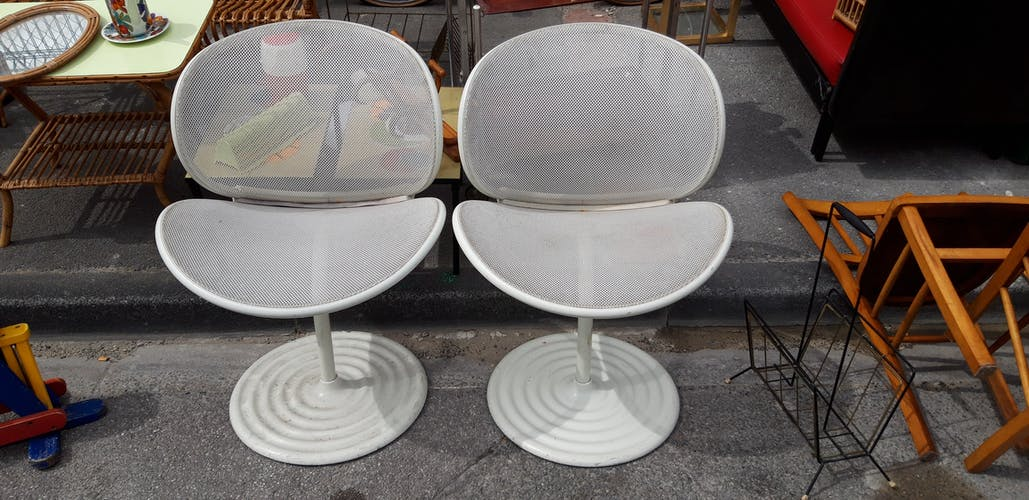 2 chaise vintage Herbert Ohl