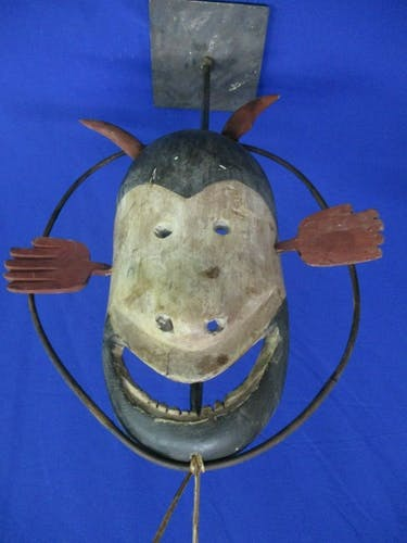 Masque inuit art tribal