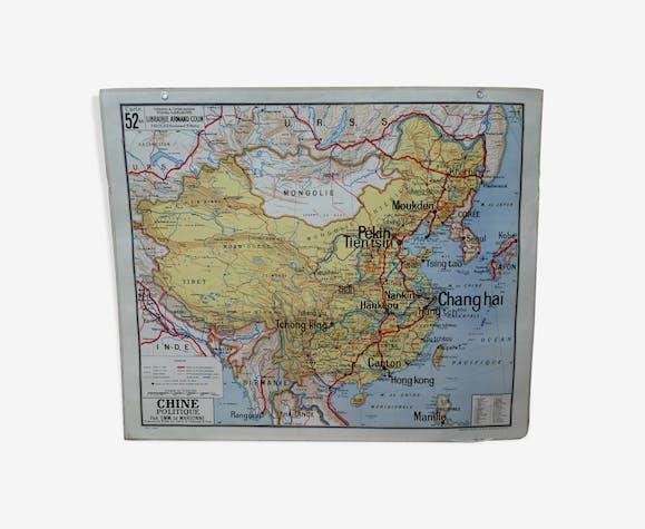 China's Ancient School Map 52 - Vidal Lablache