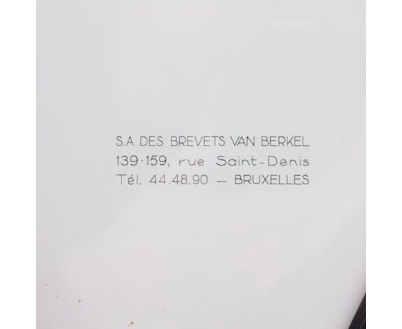 Berkel balance scale, 1962