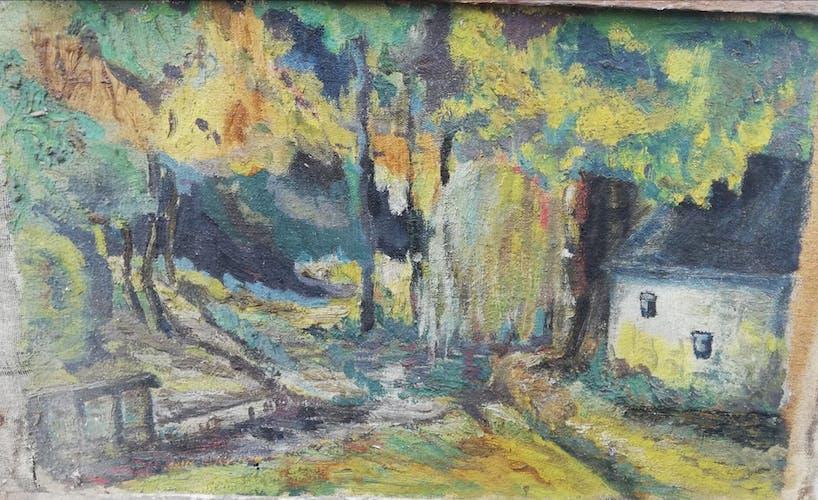 Lot de peintures