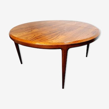 Table bass rosewood by Johannes Andersen for CFC Silkeborg, 1960 s