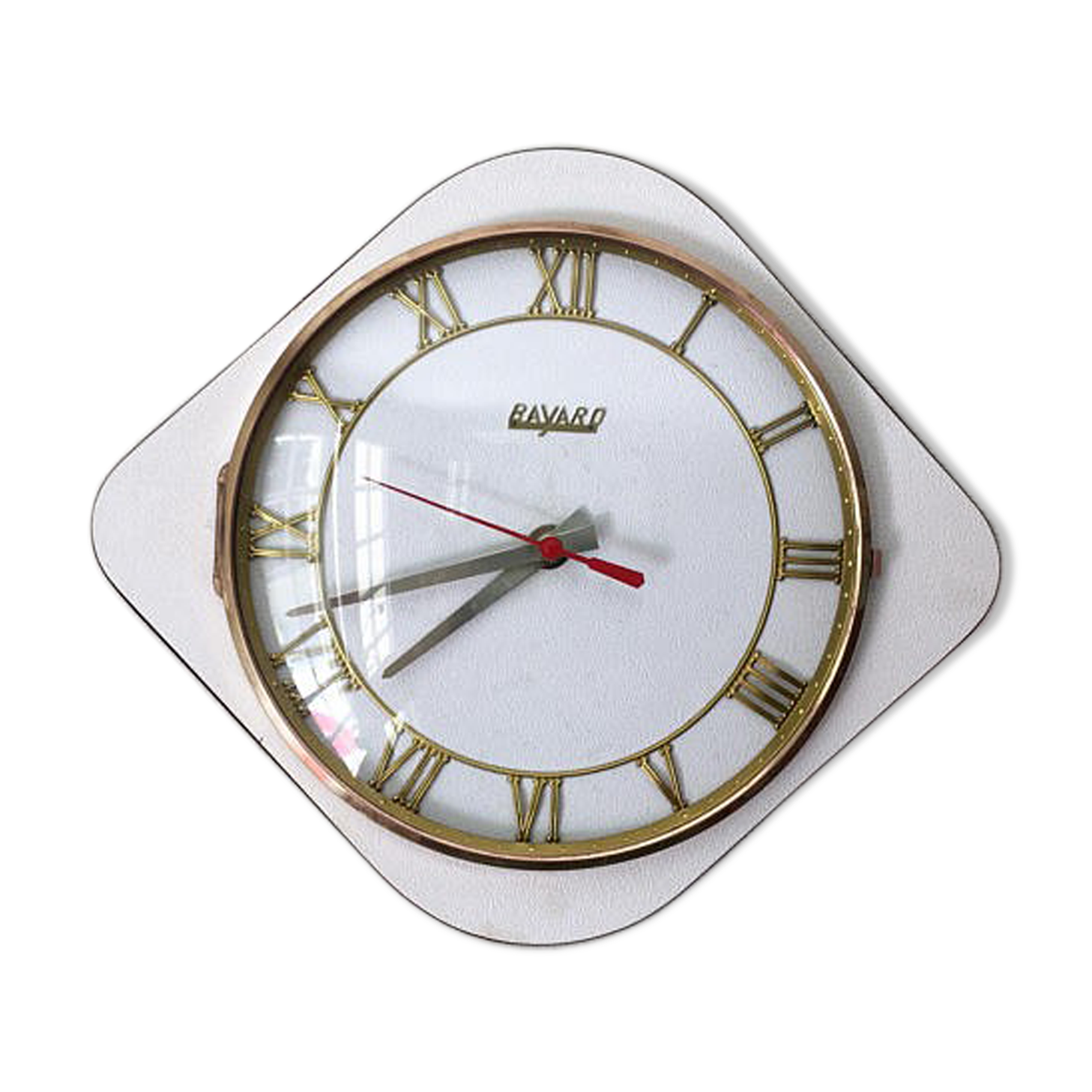 Cool horloge murale blanche vintage with grande horloge murale blanche for Grosse horloge blanche