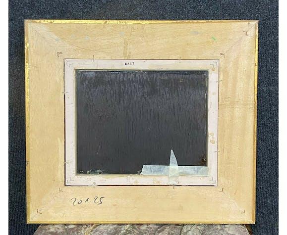 Huile sur panneau signée V Arto vers 1950, école orientaliste XXeme