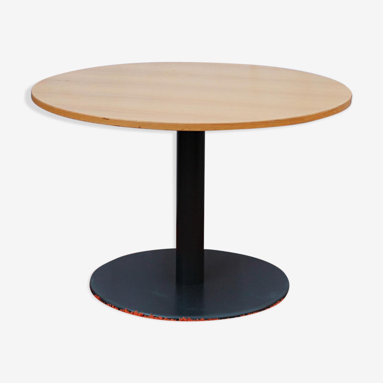 Table ronde vintage Steelcase