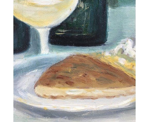 Tableau galette et cidre