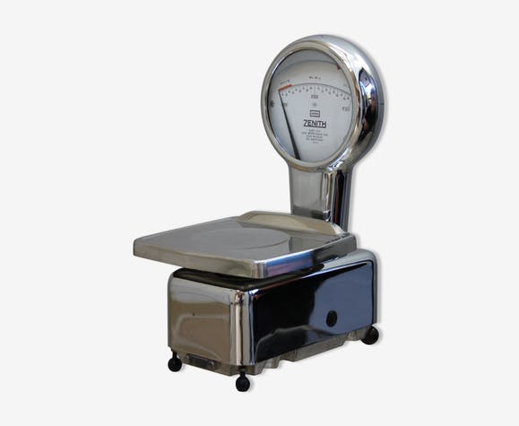 Scale by Zenith Belgium 60 - metal - silver (Color