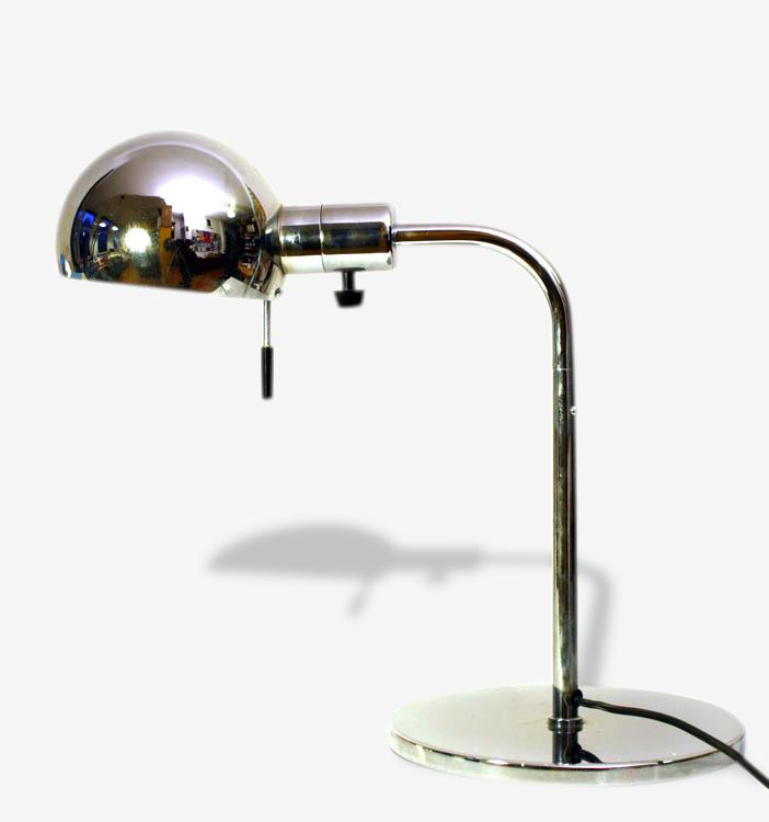 Paire de lampe chromées vintage