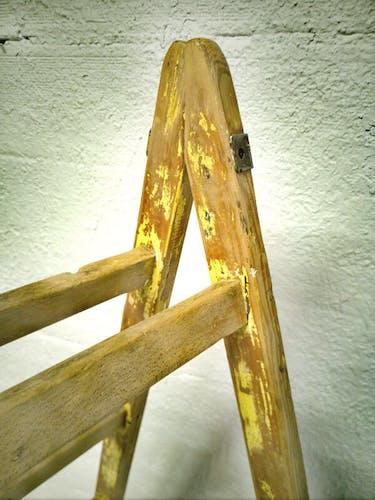 Échelle en bois vintage