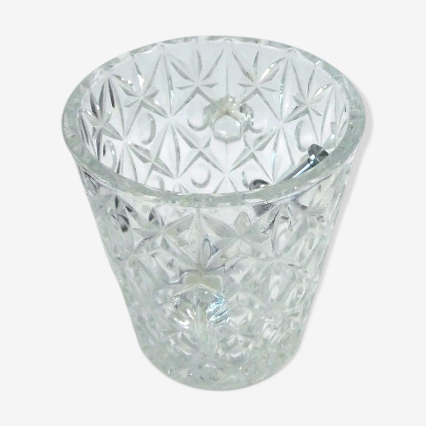 Seau à glace en verre